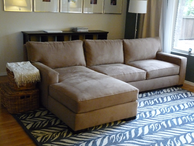 maxwell110sectional : axis crate and barrel sectional - Sectionals, Sofas & Couches